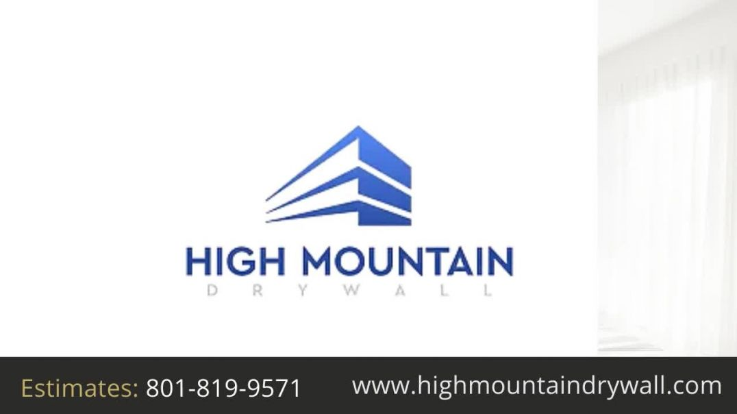 Utah drywall contractor contact number || High Mountain Drywall best quality service provider ||