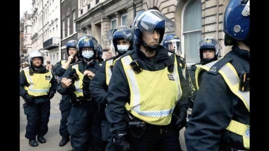 London Protest in Parliament Square (2021.07.19)